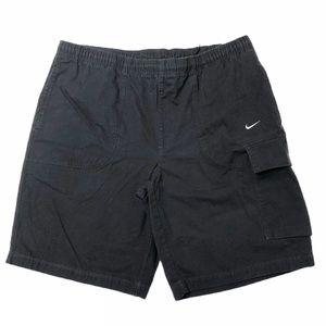 Men's Black Nike Cotton Shorts